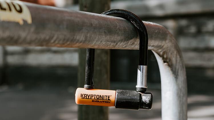 Kryptonite sold secure bike d-lock