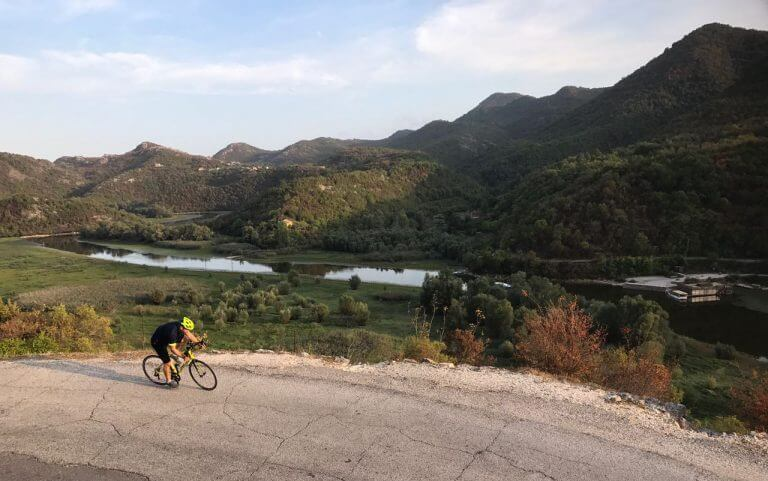 cycling in the balkans