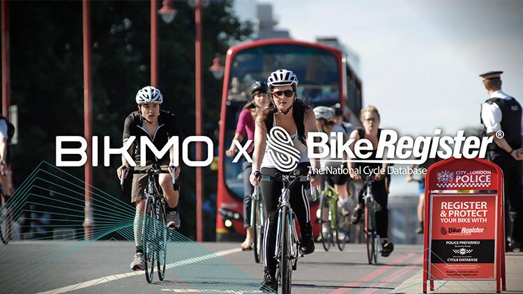 BikeRegister partnership with Bikmo image