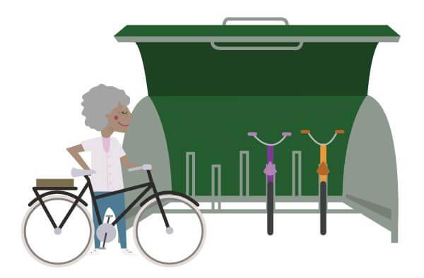 cyclehoop bikehangar