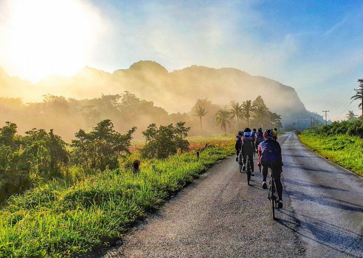 borneo cycling destinations