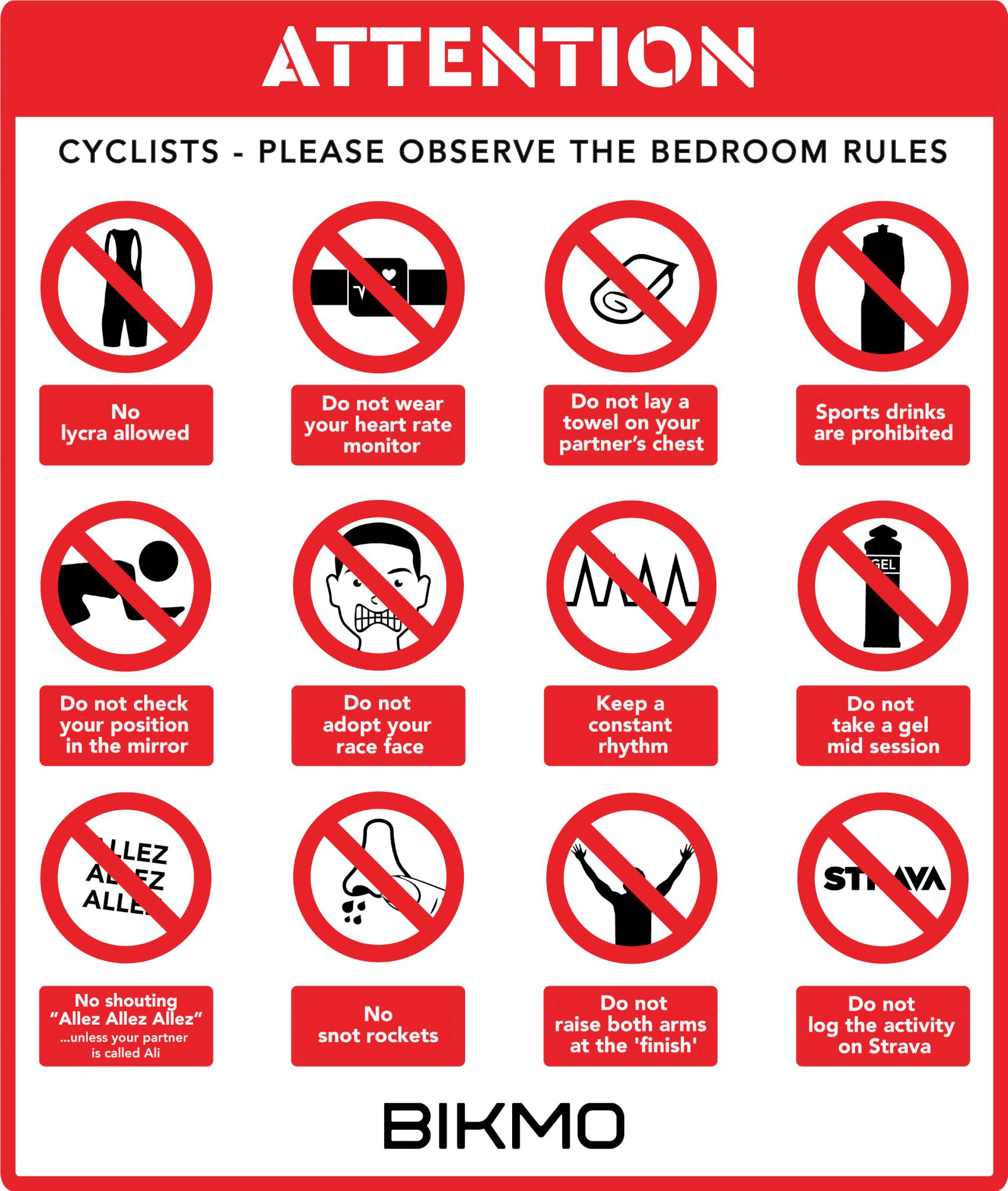 Valentine's Day Bikmo bedroom rules