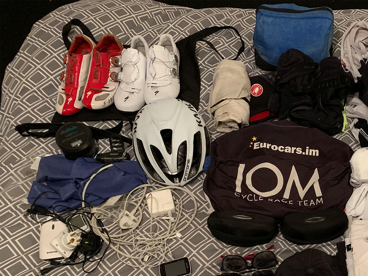 things to pack for taking a bike on a plane