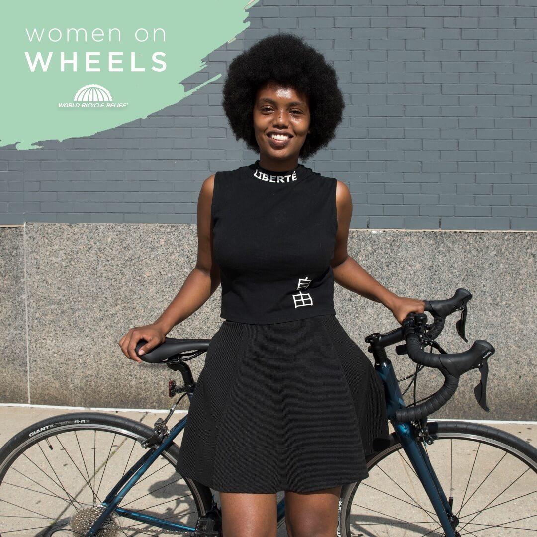 women on wheels image