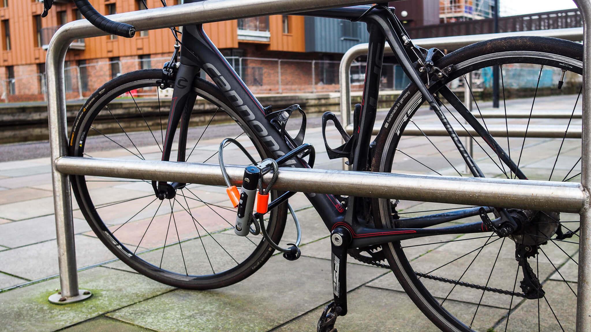Fahrrad gegen Diebstahl sichern